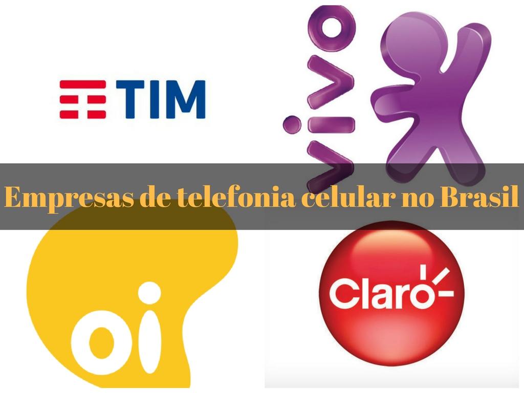 Compahnias de telefone celular do Brasil