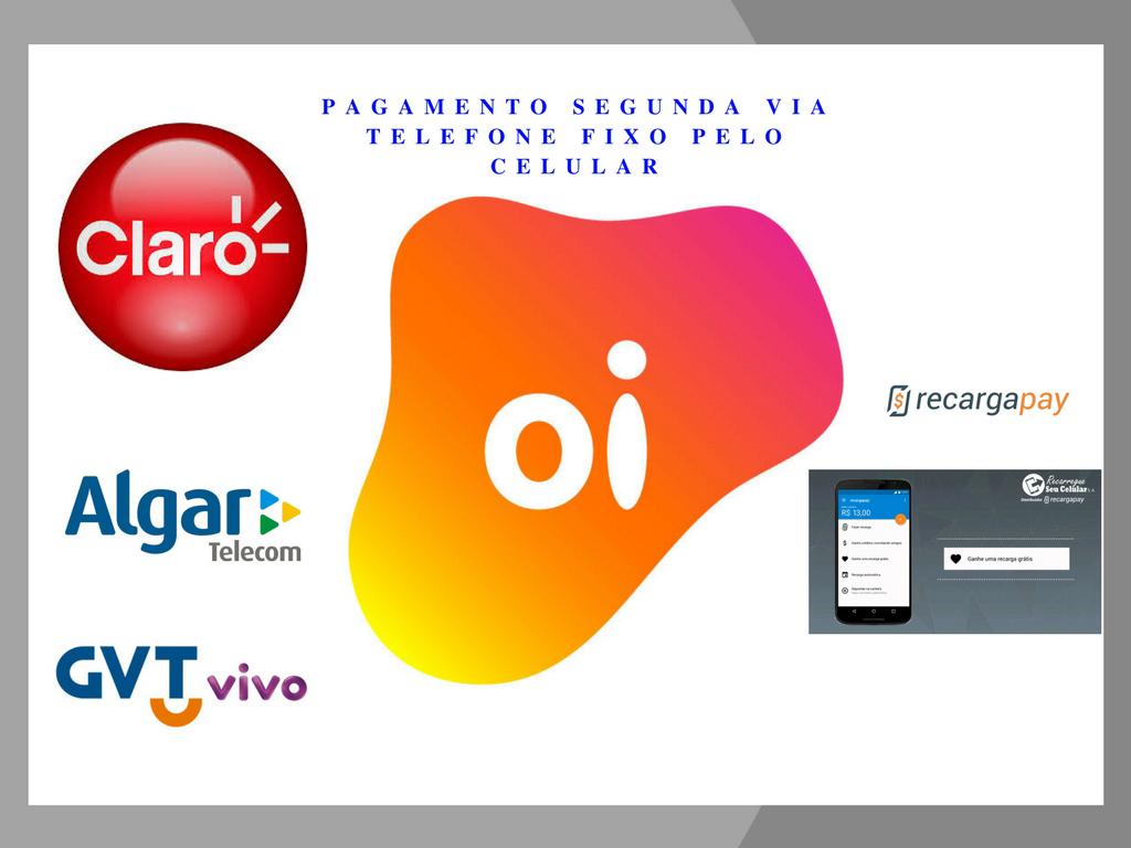 Cancelar factura de telefone fixo online com a aplicação RecargaPay pelo celular