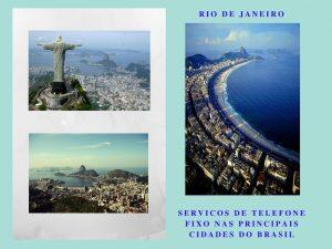 Servicos de telefone fixo nas principais cidades do Brasil
