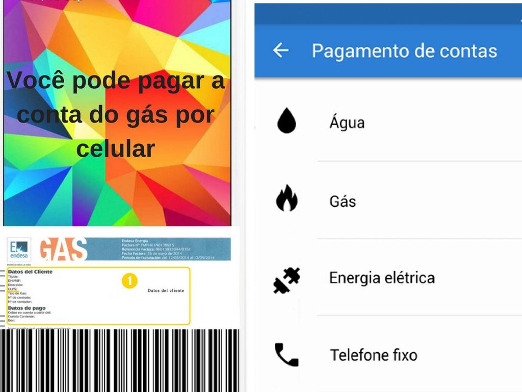 Pagar sua conta do gás via celular no Brasil