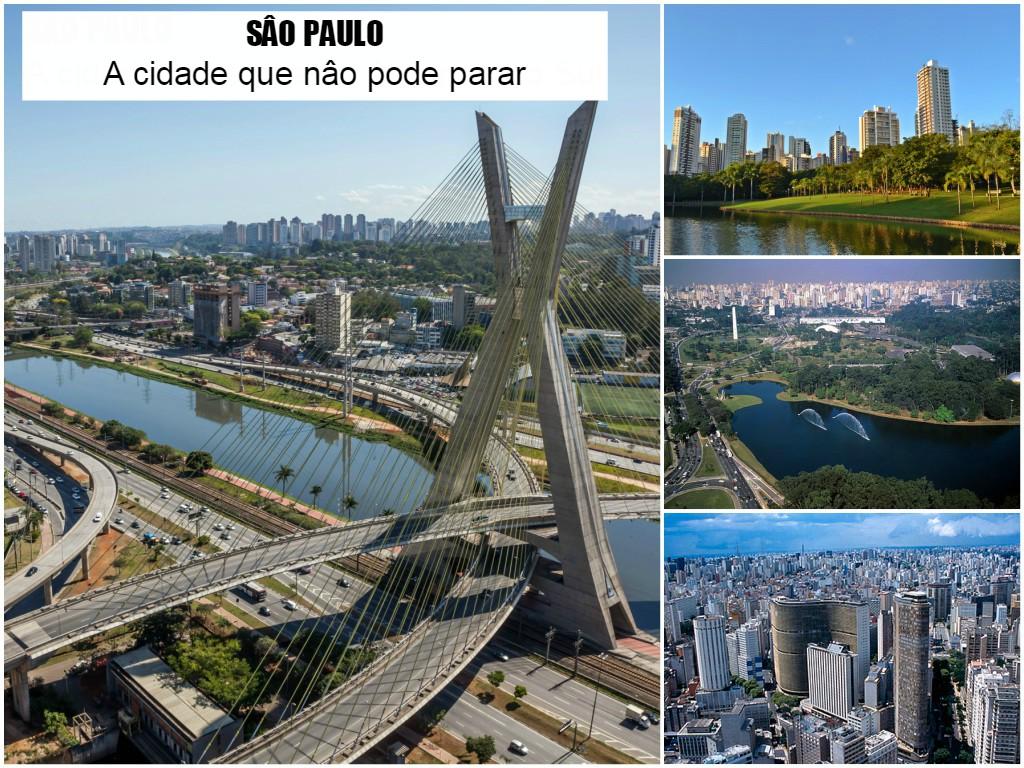 São paulo a cidade que nao pode parar, a maior urbe do América do Sul, com os pontos turísticos mais interessantes