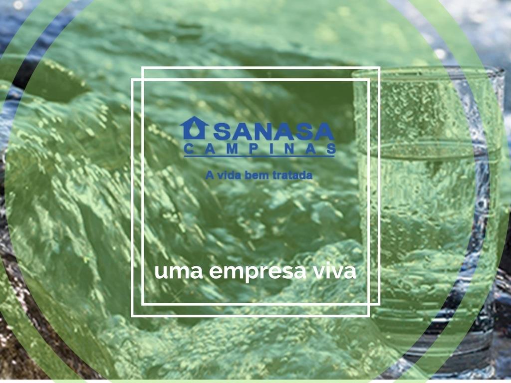 Sanasa em Campinas no São Paulo, fornecedor de água