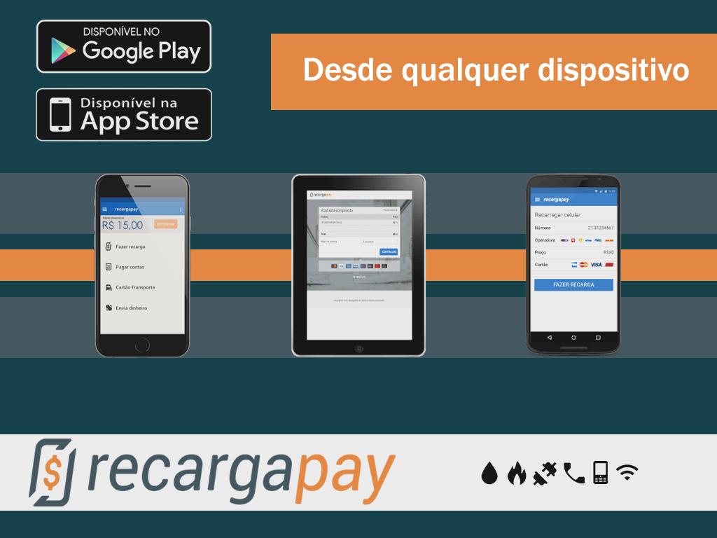 Faça o pagamento de sua 2ª via de internet desde qualquer dispositivo celular ou tablet