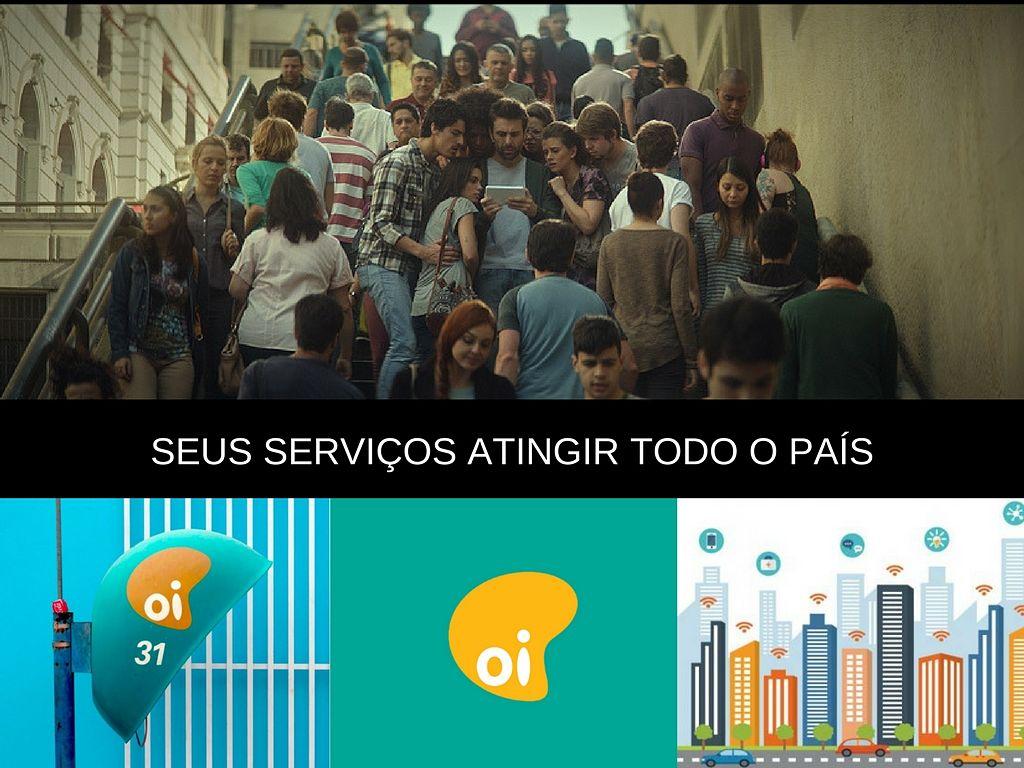 Serviços de OI atingir a todo o país pelo celular
