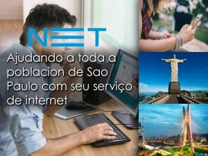 ajudando a toda a poblacion de sao paulo com seu servico de internet
