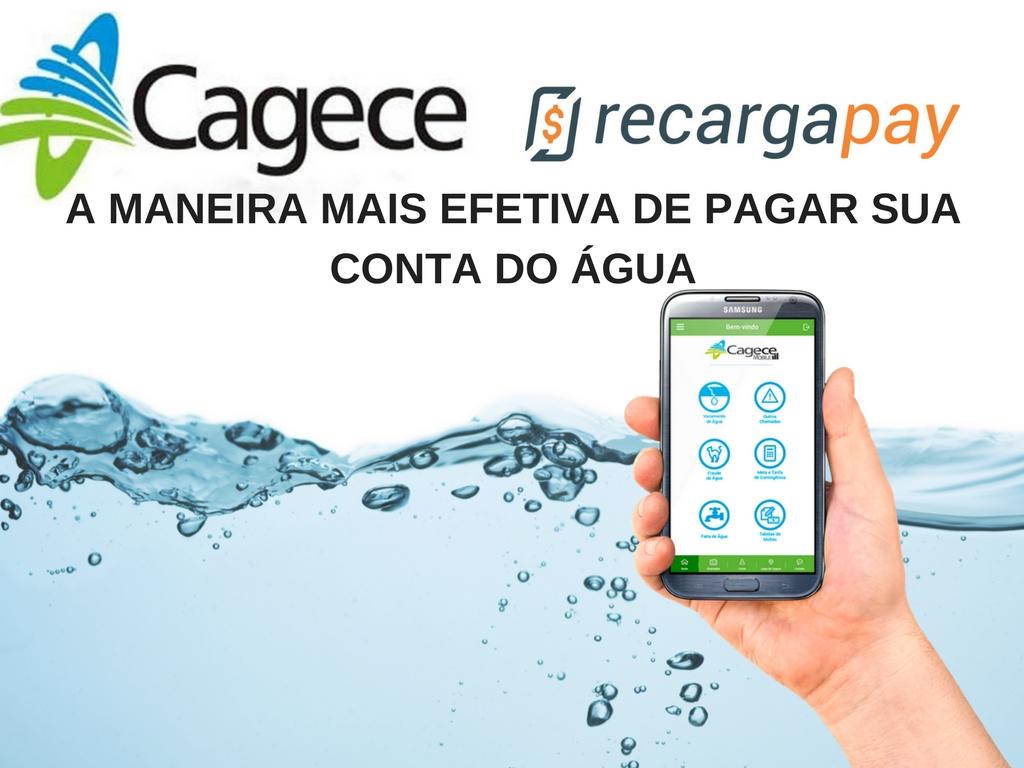 A maneira mais efetiva de pagar pelo celular suas conta do água de Cagece