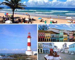 Salvador de Bahia a primeira capital de Brasil