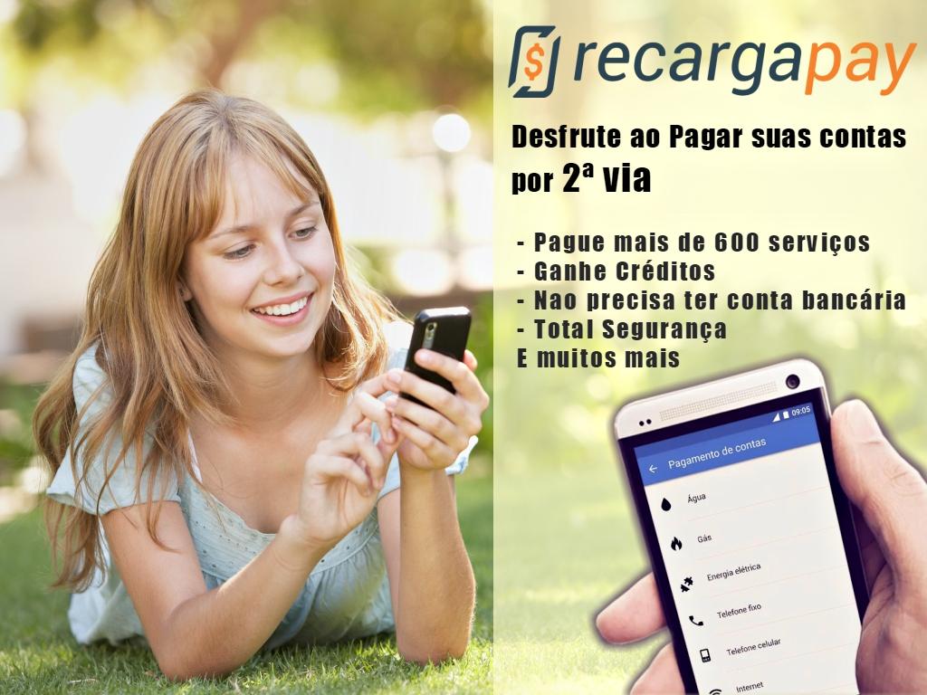 Desfrute dos benefícios de Recargapay na hora fazer o pagamento da suas contas pelo celular