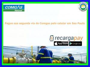 Pague sua segunda via de Comgas pelo celular em Sao Paulo