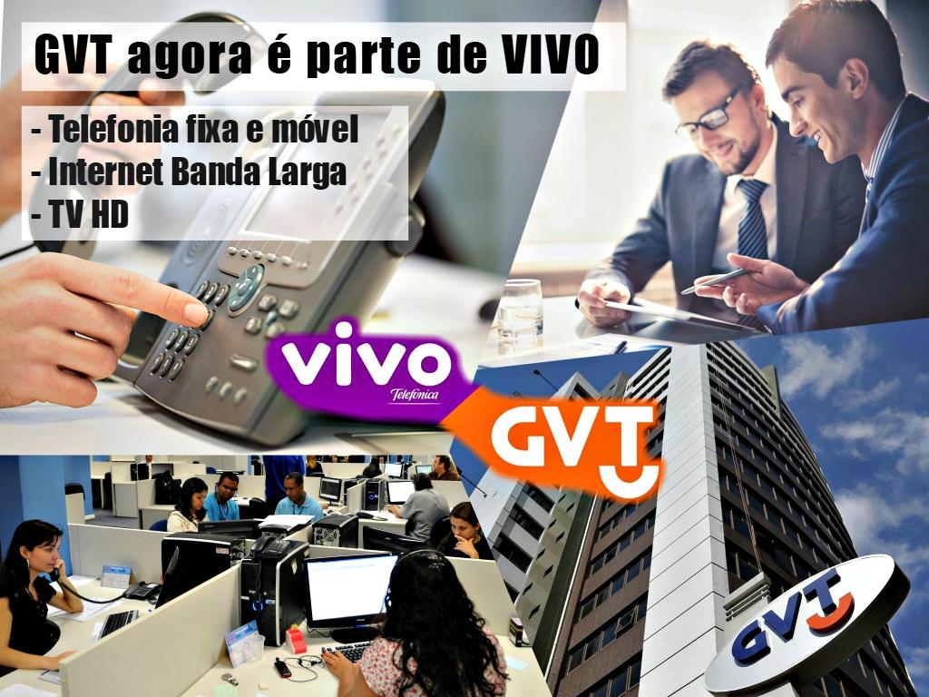 GVT e VIVO agora são a mesma empresa