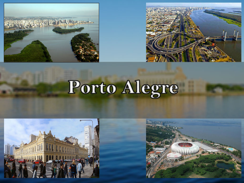Esta imagem mostra-te os cidade de Porto Alegre com lugares turisticos perfeitos para fazer pagamentos de segunda via