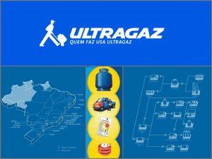 Esta imagen te muestra el alcance de la empresa Ultragaz y su distribución a lo ancho de Porto Alegre