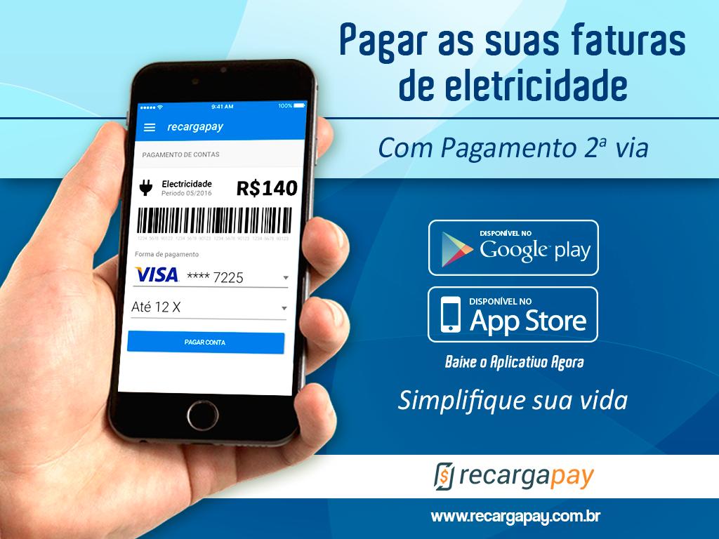 Pague suas faturas de eletricidade com pagamento 2ª via