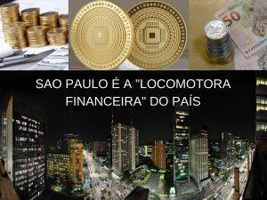 """Sao Paulo é a """"locomotora financeira"""" do país"""