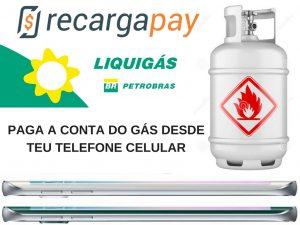 Paga a conta do gás desde teu telefone celular