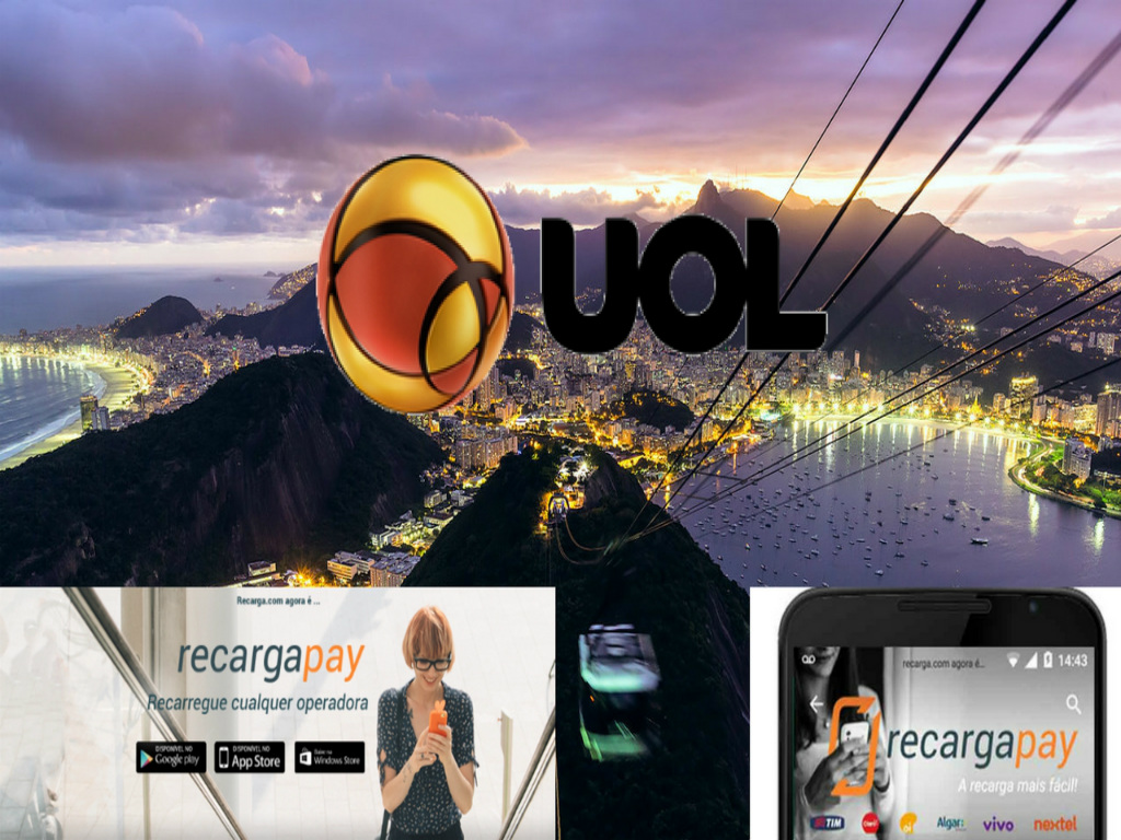 Pague sua segunda via UOL pelo celular em Rio de Janeiro