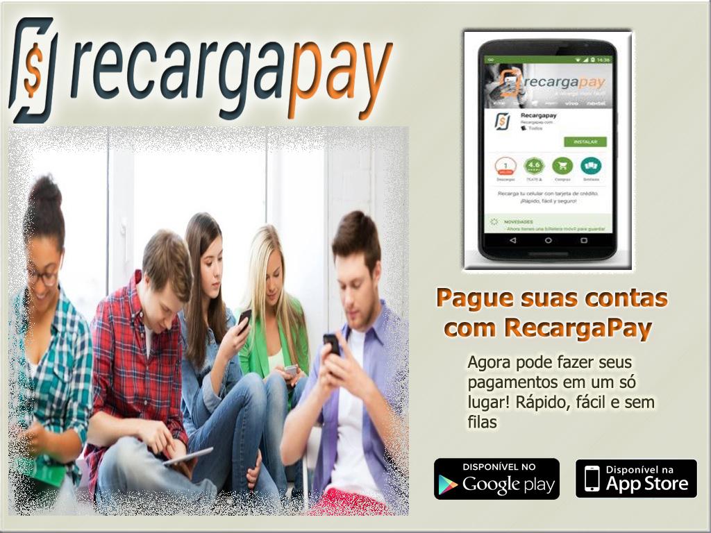 Paga todas suas contas de serviços básicos com o aplicativo RecargaPay
