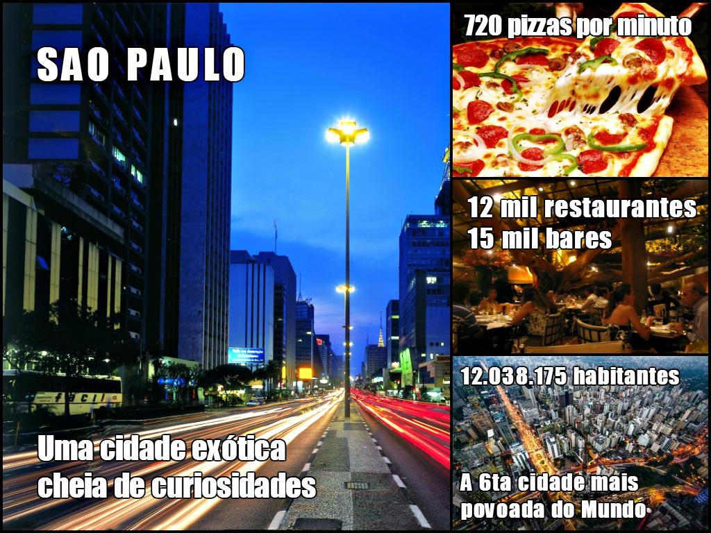 Curiosidades da cidade de Sao Paulo
