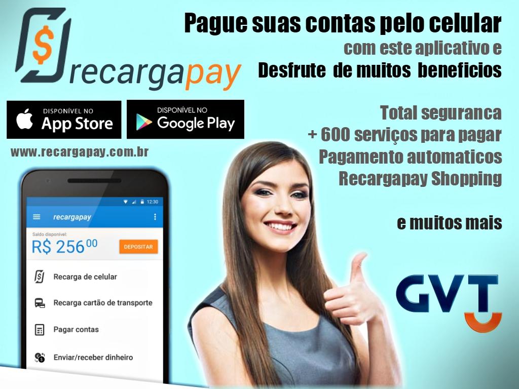 Desfrute dos benefícios do aplicativo Recargapay na hora de pagar suas contas pelo seu celular