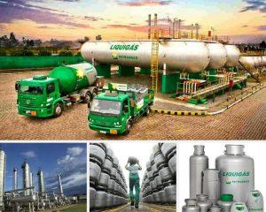 Liquigas a empresa mas destacada de gás em Salvador