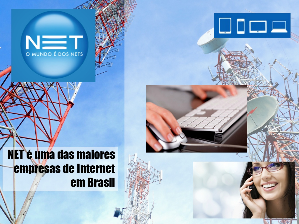 Serviços de internet NET em Sao Paulo