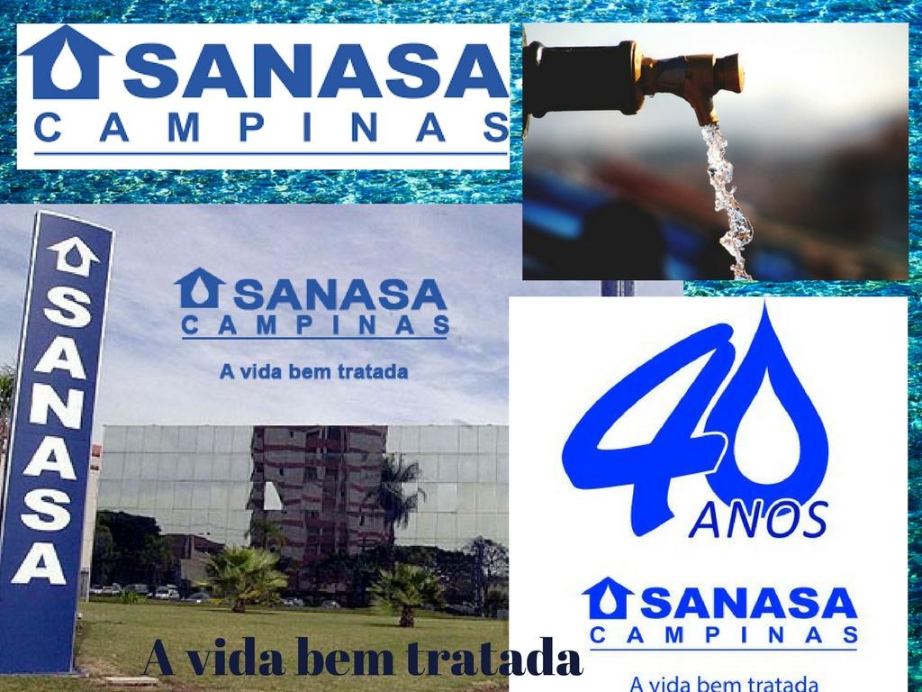 Sanasa a empresa da água mais importante de Campinas
