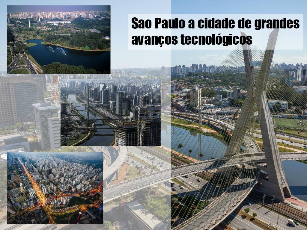 características da grande cidade tecnológica de Sao Paulo
