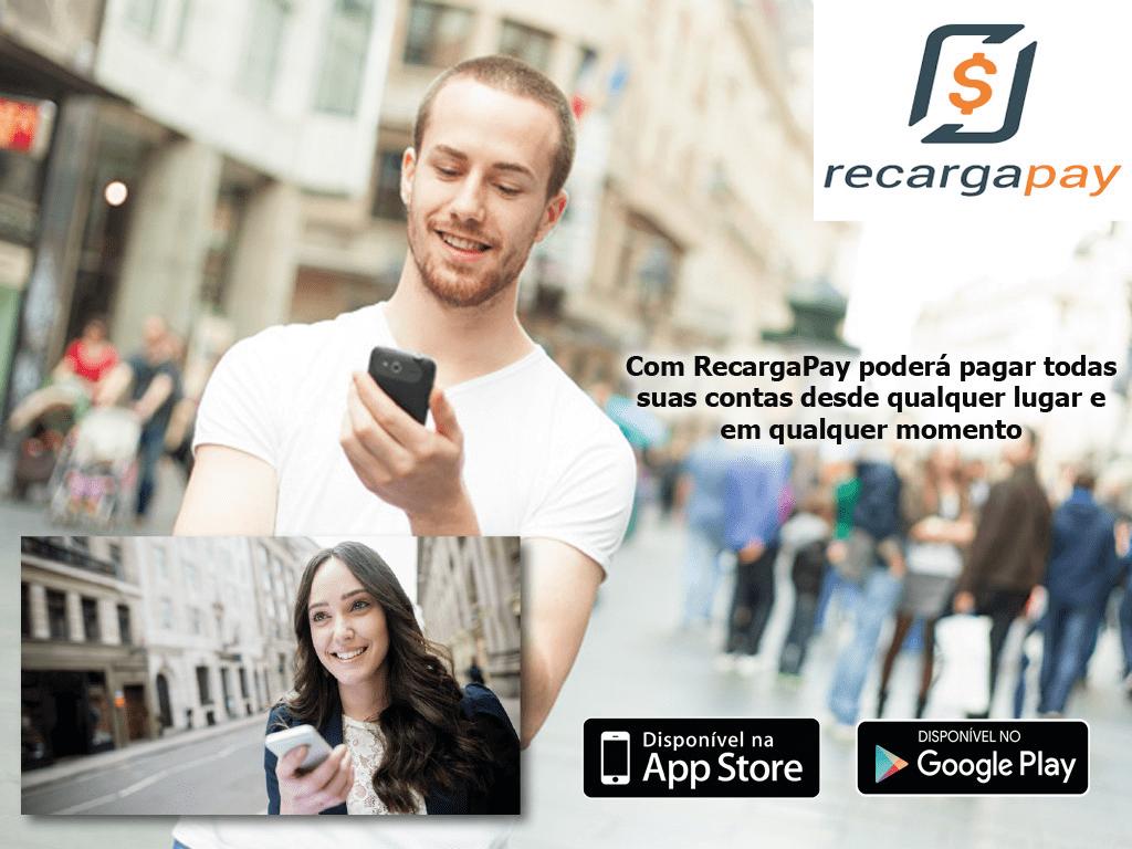 Conheça o fácil que é pagar as contas pelo celular com Recargapay