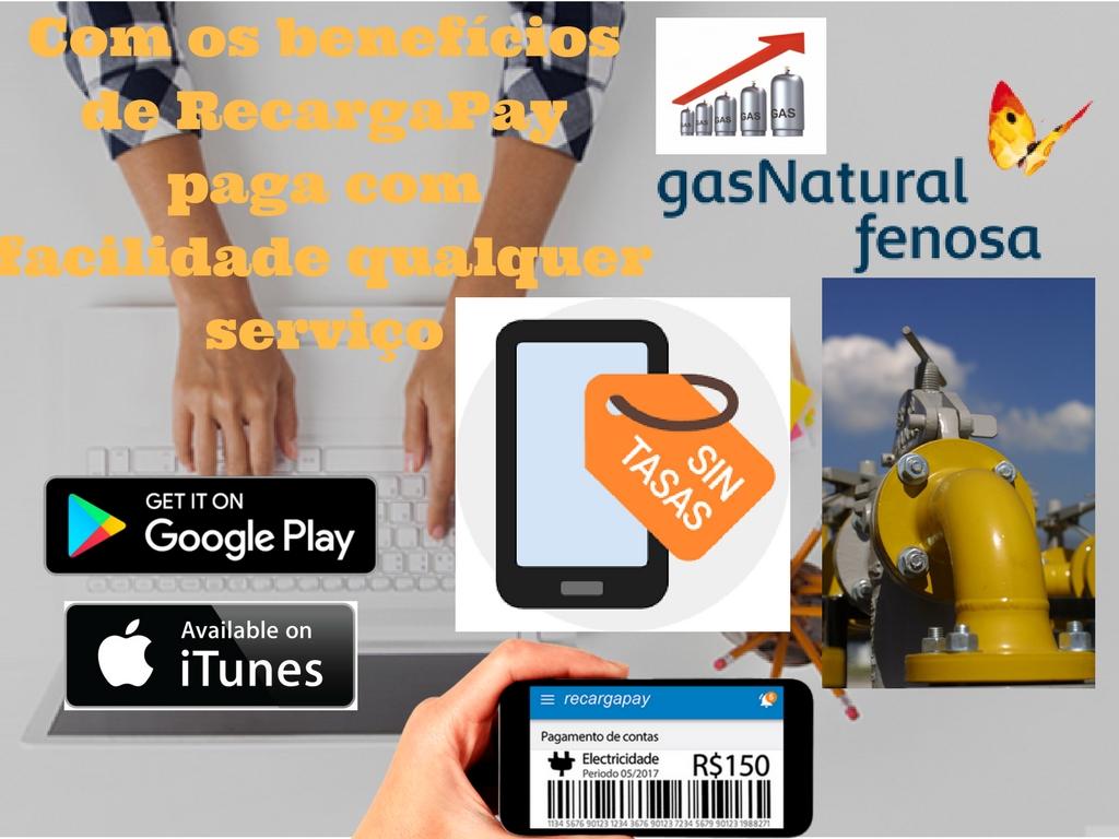 O gás natural Fenosa chega a mais de 6 milhões de habitantes que podem pagar sua conta pelo celular