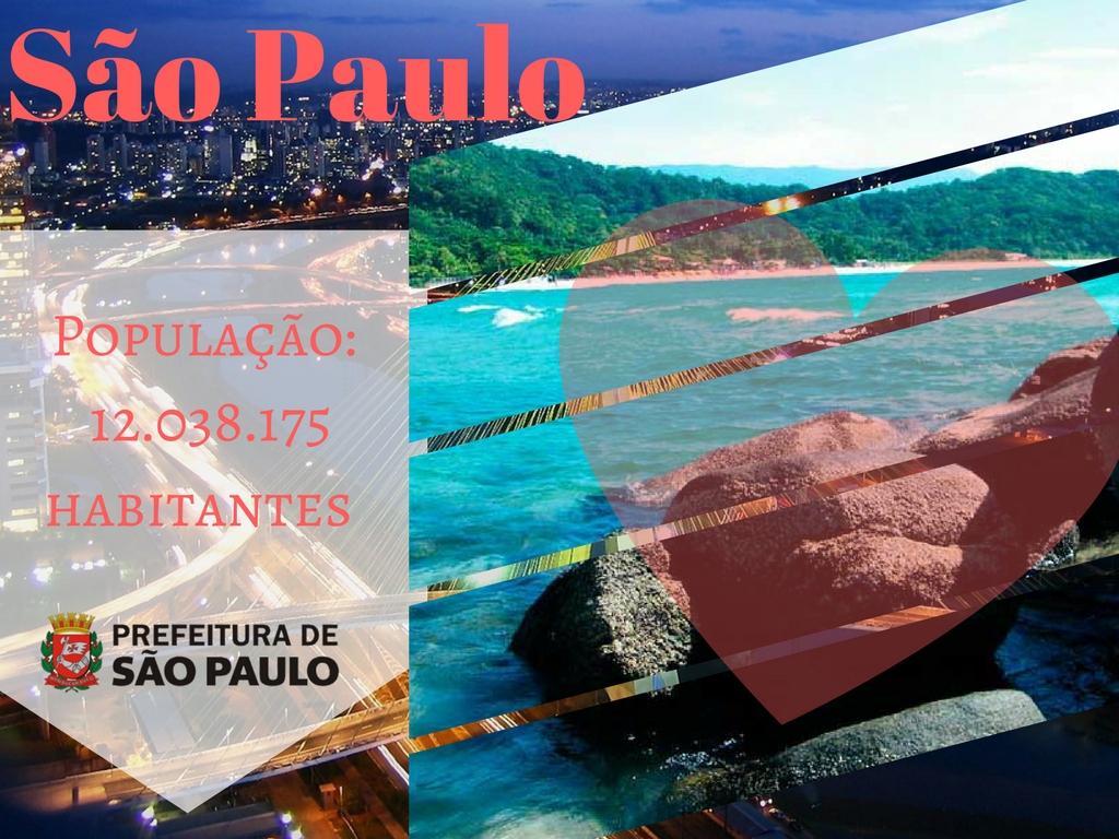 Sao Paulo, a ciudade mais populosa do Brasil