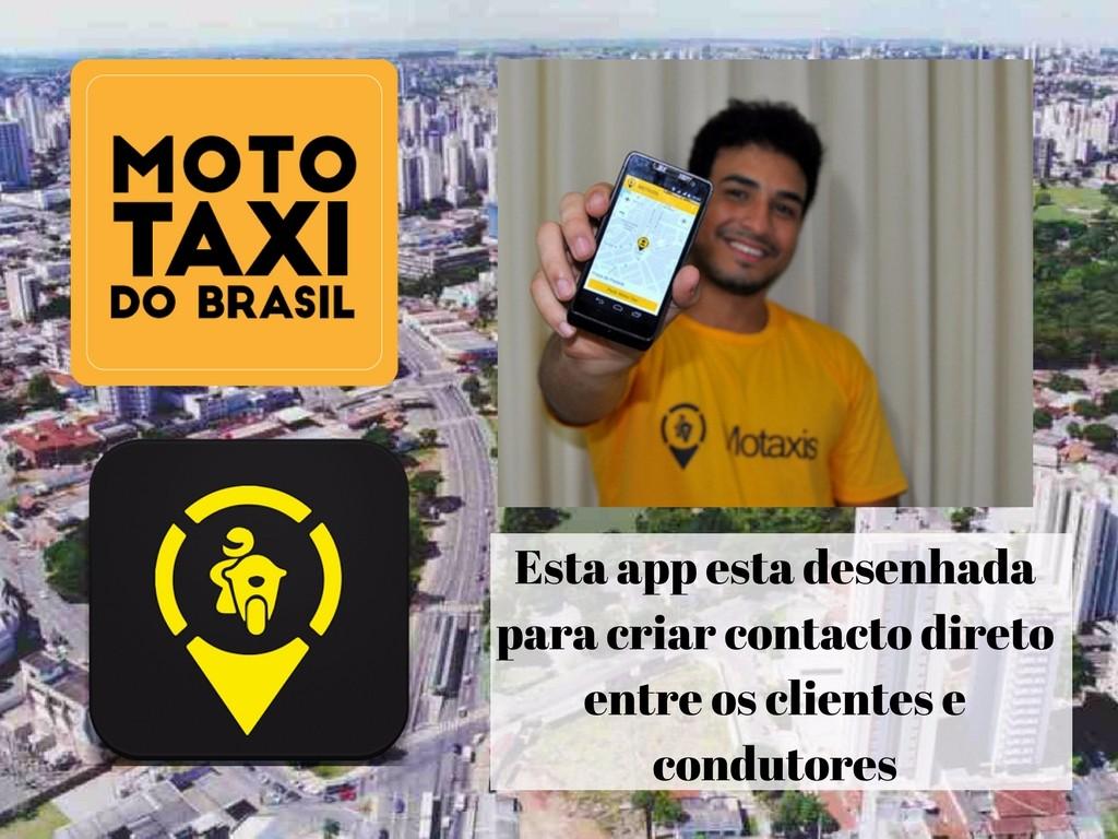 Moto Taxi do Brasil, aplicativo para pessoas que precisam de moto taxi