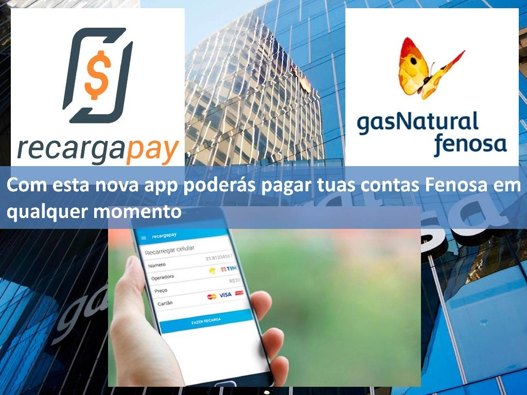Paga tua conta de gás Fenosa rapidamente com esta app em Rio de Janeiro