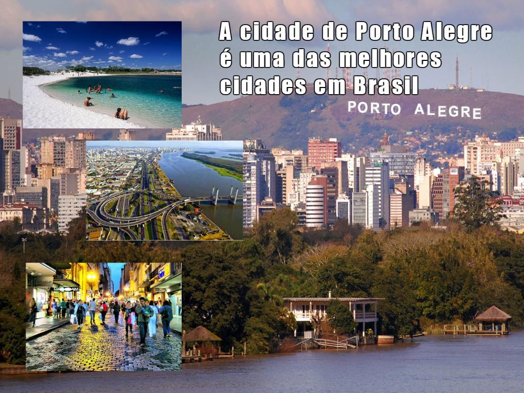 A cidade de Porto Alegre como ponto turistico e financeiro do Brasil