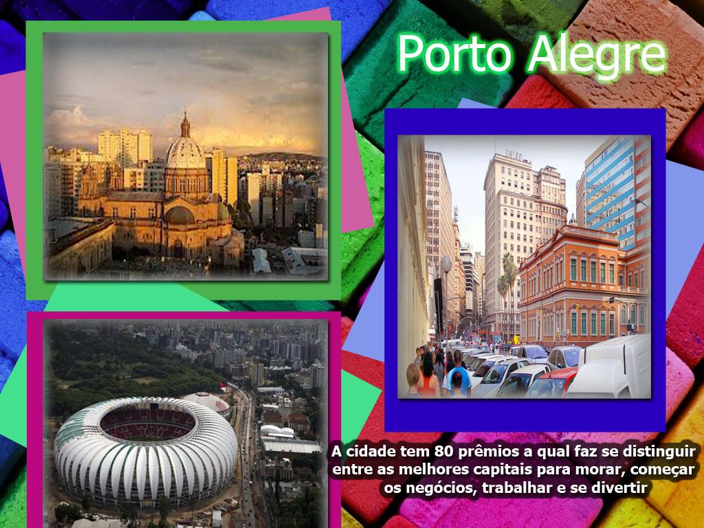 A cidade de Porto Alegre e suas maravilhas