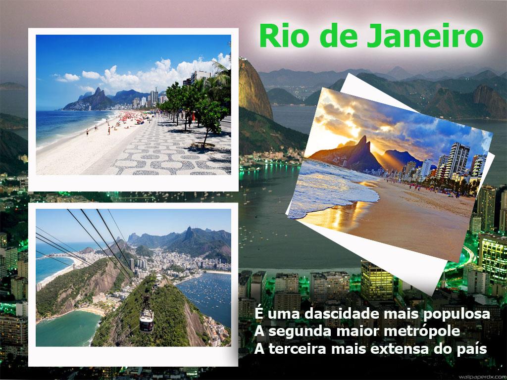 Rio de Janeiro a cidade maravilhora