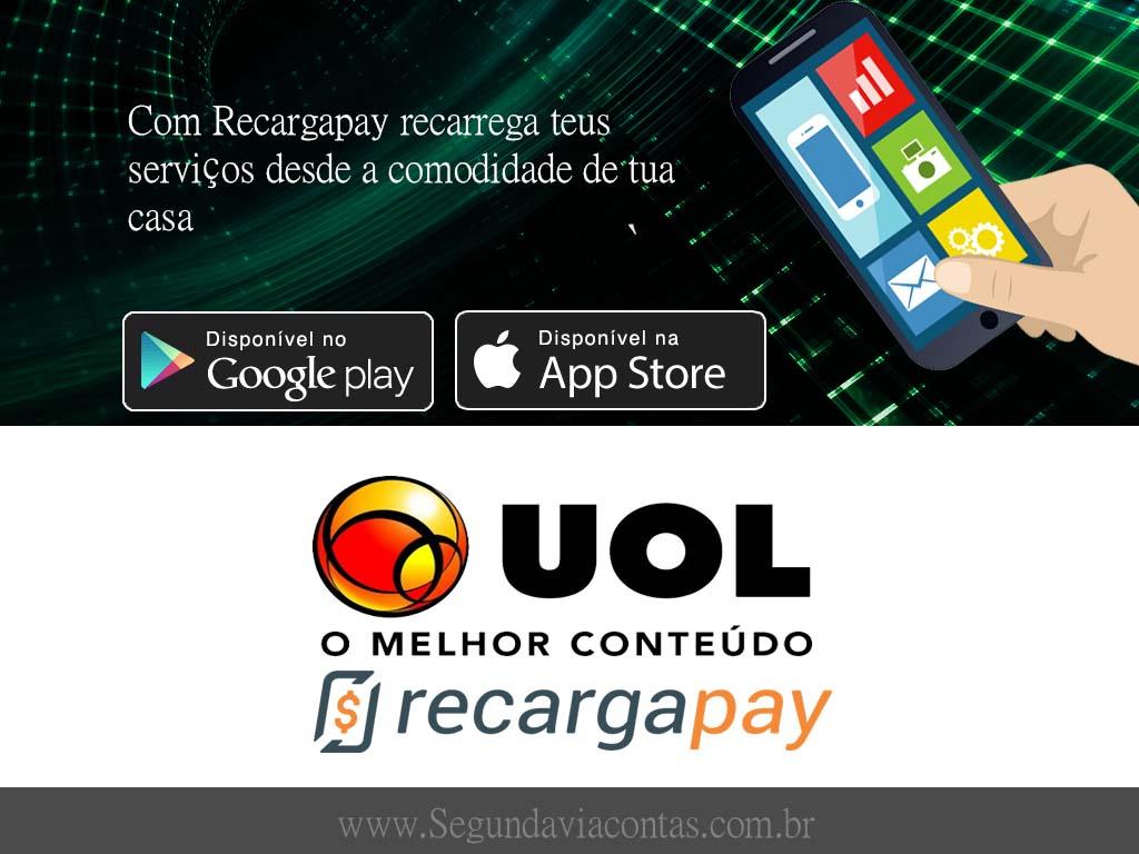 Faz o pagamento de tua segunda via de contas de UOL em Sao Paulo