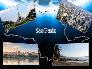 algumas zonas turísticas de Sao Paulo