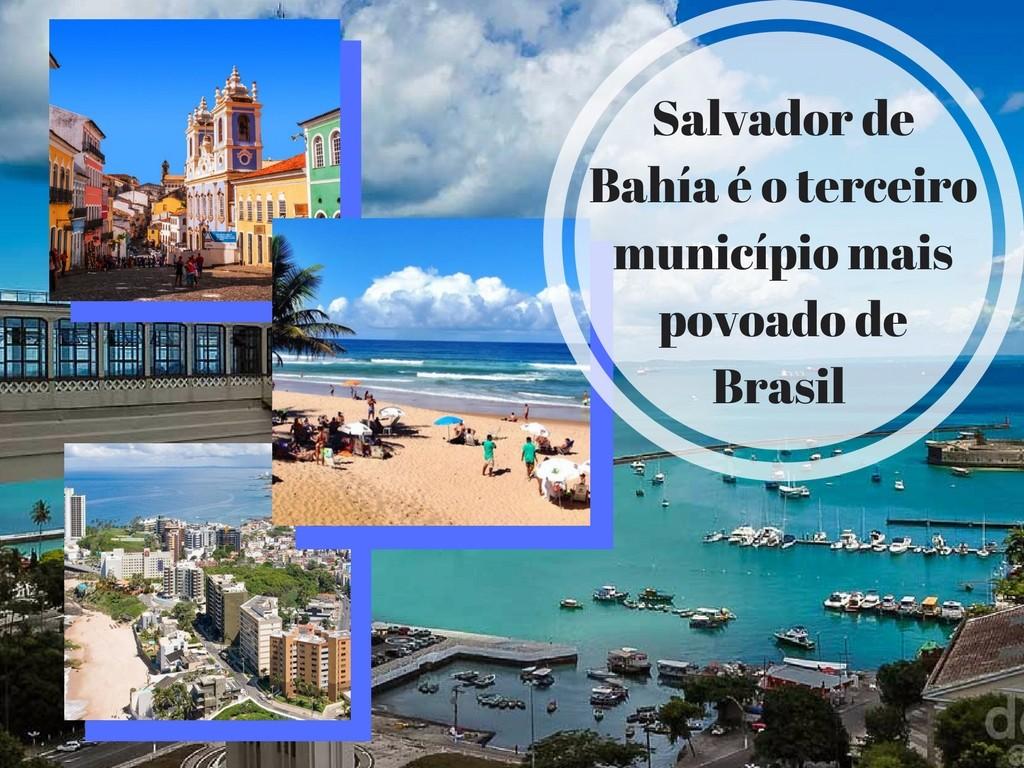 Salvador de Bahia e seus sítios mais atrativos