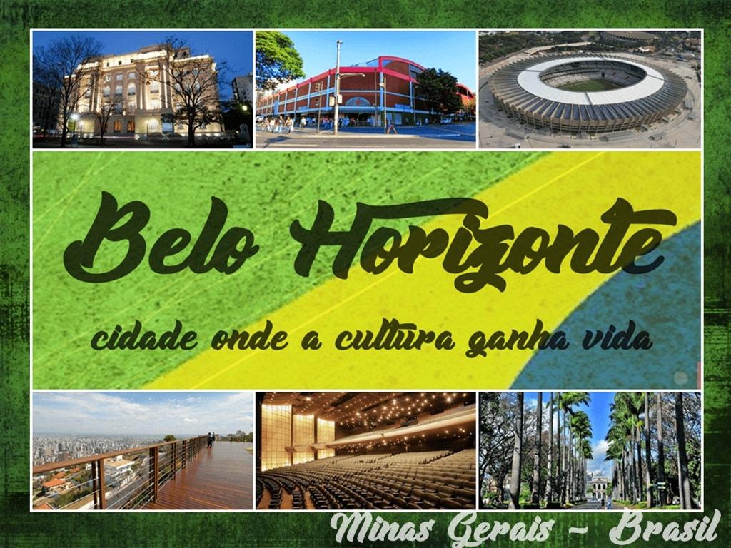 Belo Horizonte cidade onde a cultura ganha vida