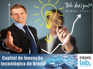 Belo Horizonte como a capital de inovação tecnológica de Brasil
