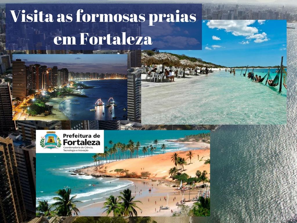 Visita as formosas praias em Fortaleza