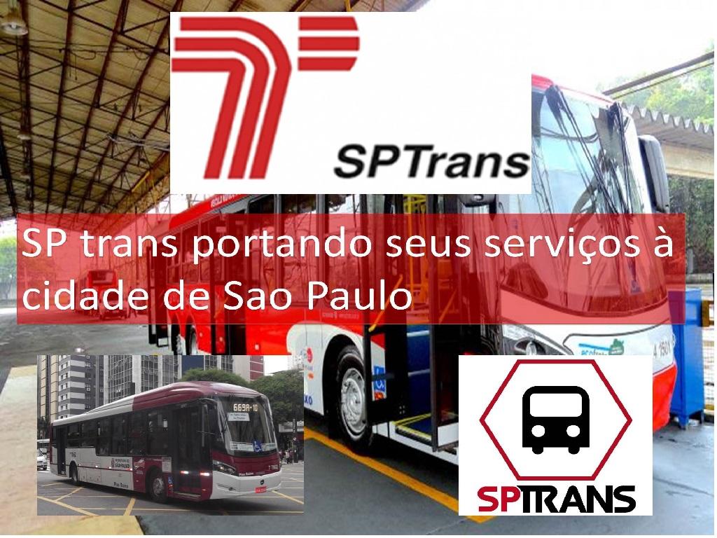 SP trans portando seus serviços