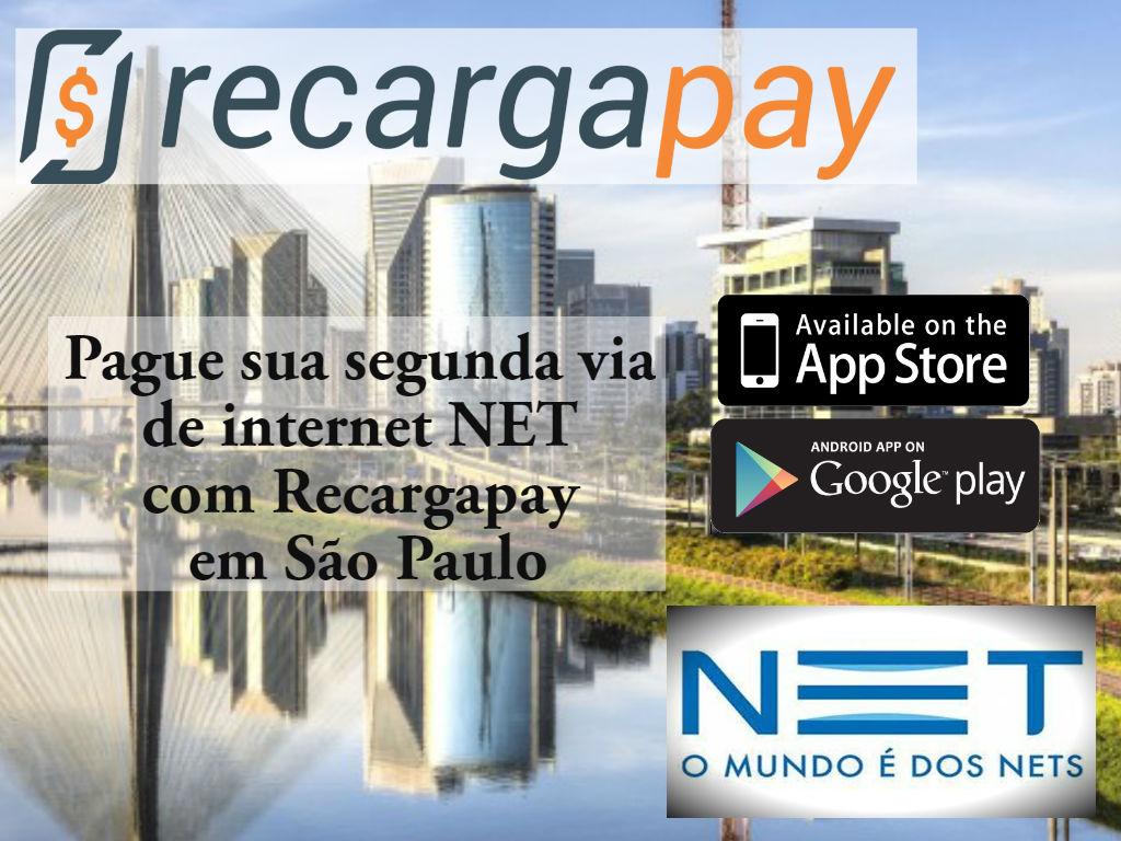Você pode pagar sua conta de Internet NET em São Paulo sem sair de casa