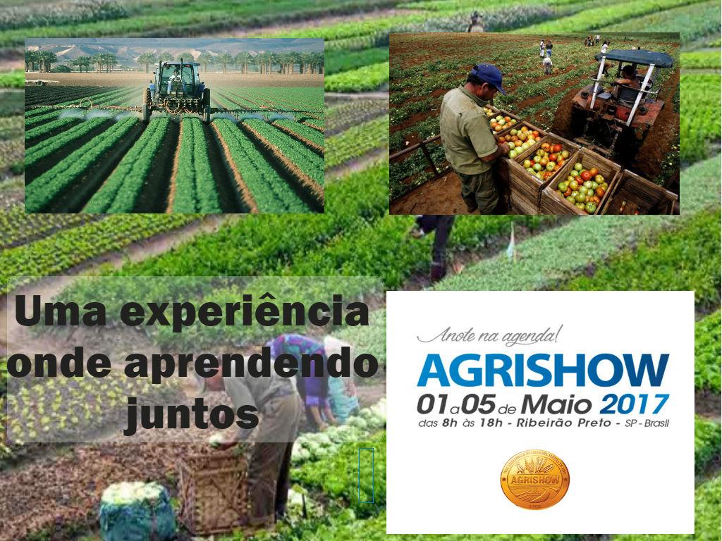 Agrishow trata de promover o conhecimento do campo em Sao paulo