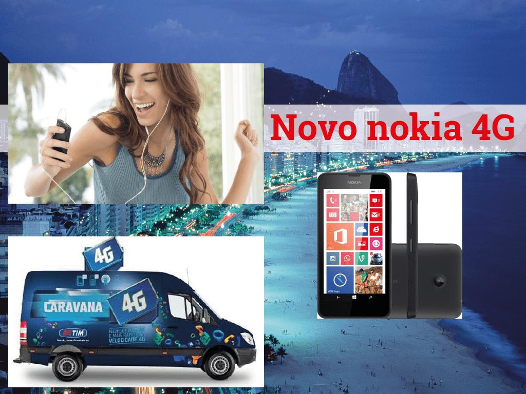 NOKIA chega às mãos de TIM para assim conseguir implantar a rede 4G