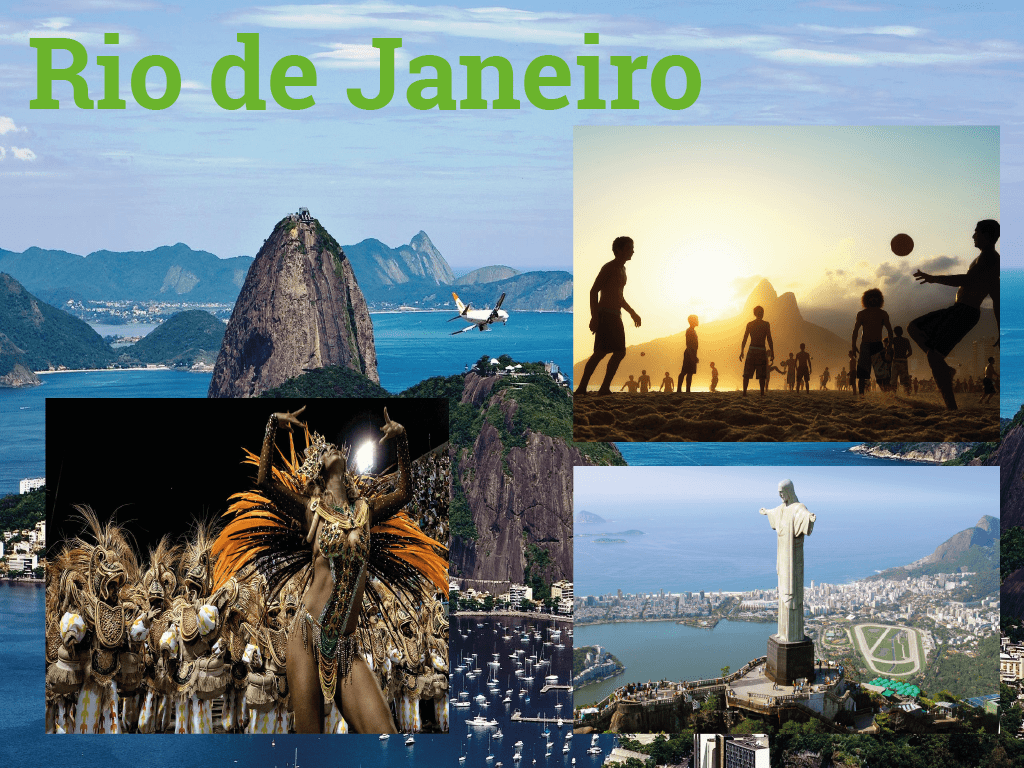 Rio de Janeiro o principal centro financeiro e turístico