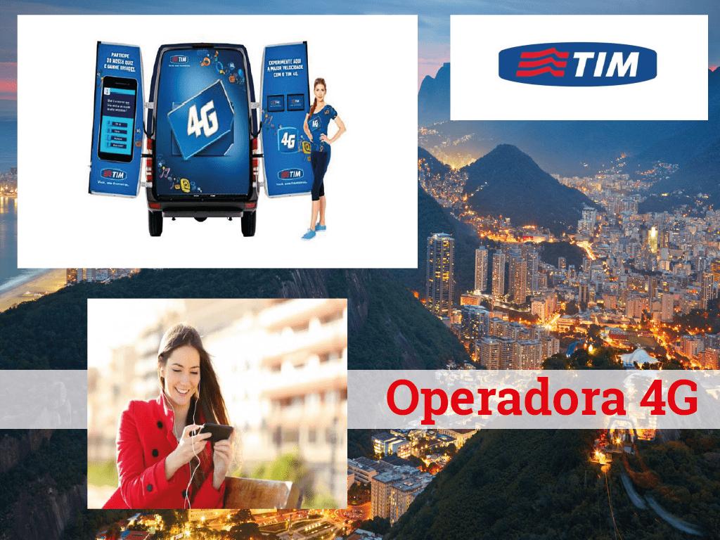 Chega a rede 4G de TIM a Rio de Janeiro