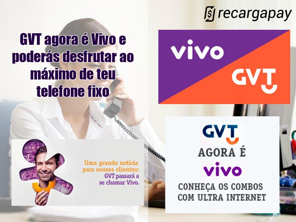 GVT agora é Vivo e poderás desfrutar de teu telefone fixo