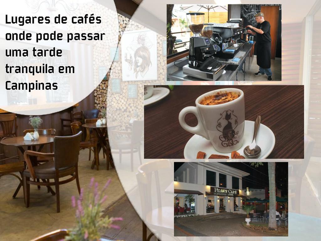 Lugares de cafés onde pode passar uma tarde tranquila em Campinas