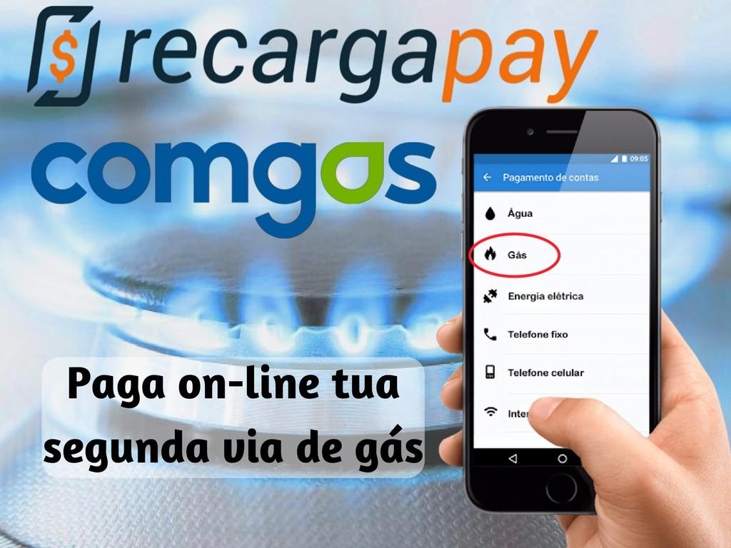 Pagamento on-line de Comgas em Campinas